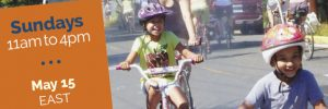 Sunday Parkways outreach